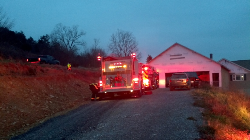 Structure Reported in Walker Twp