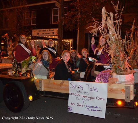 Huntingdon Area Halloween Parade Winners