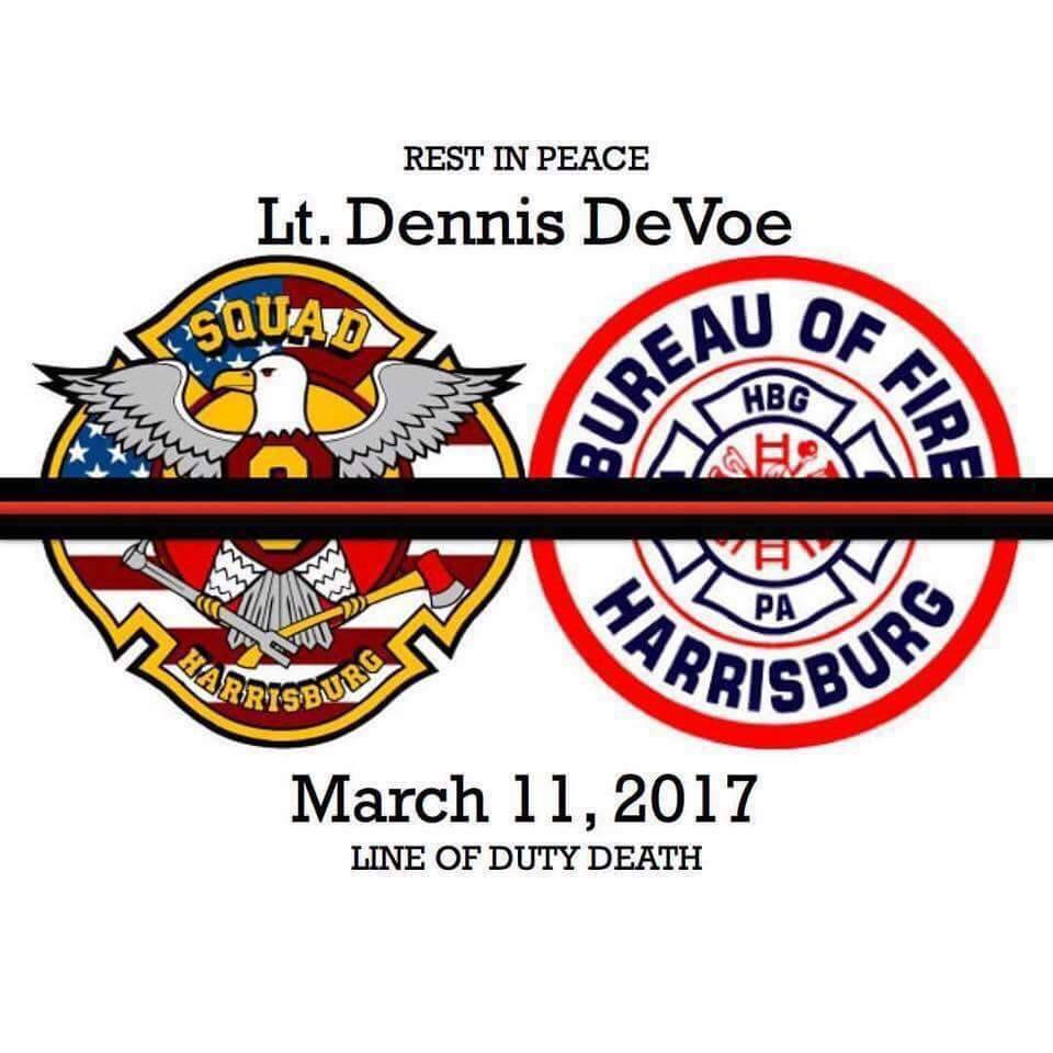 Our Deepest Condolences to Harrisburg Fire Department